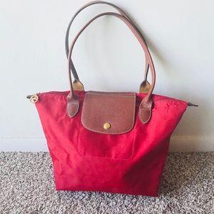 Longchamp Red Shoulder Bag